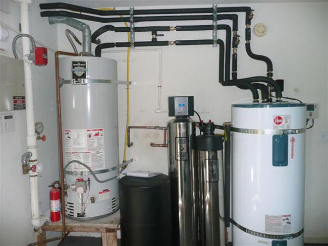 solar water tank heater